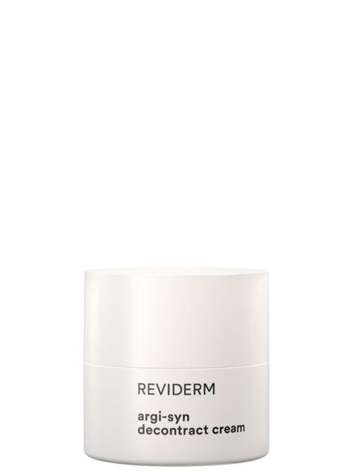 argi-syn decontract cream (Glättende) Hightech 24h-Creme für entspannte, straffe Gesichtszüge
